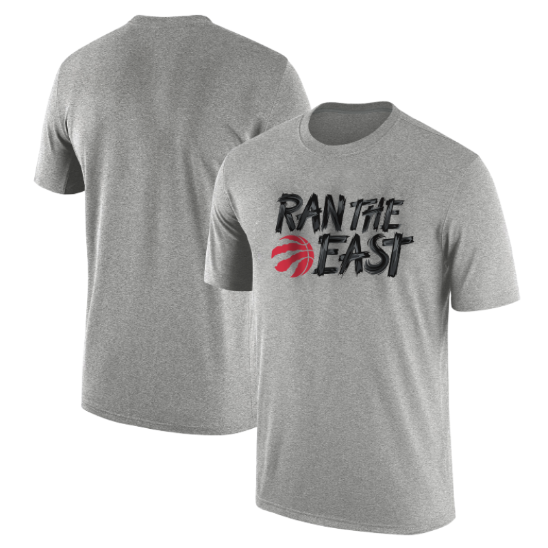 Toronto Raptors Ran The  East Tshirt (TSH-WHT-TOR.SKR.rantheeast-537)