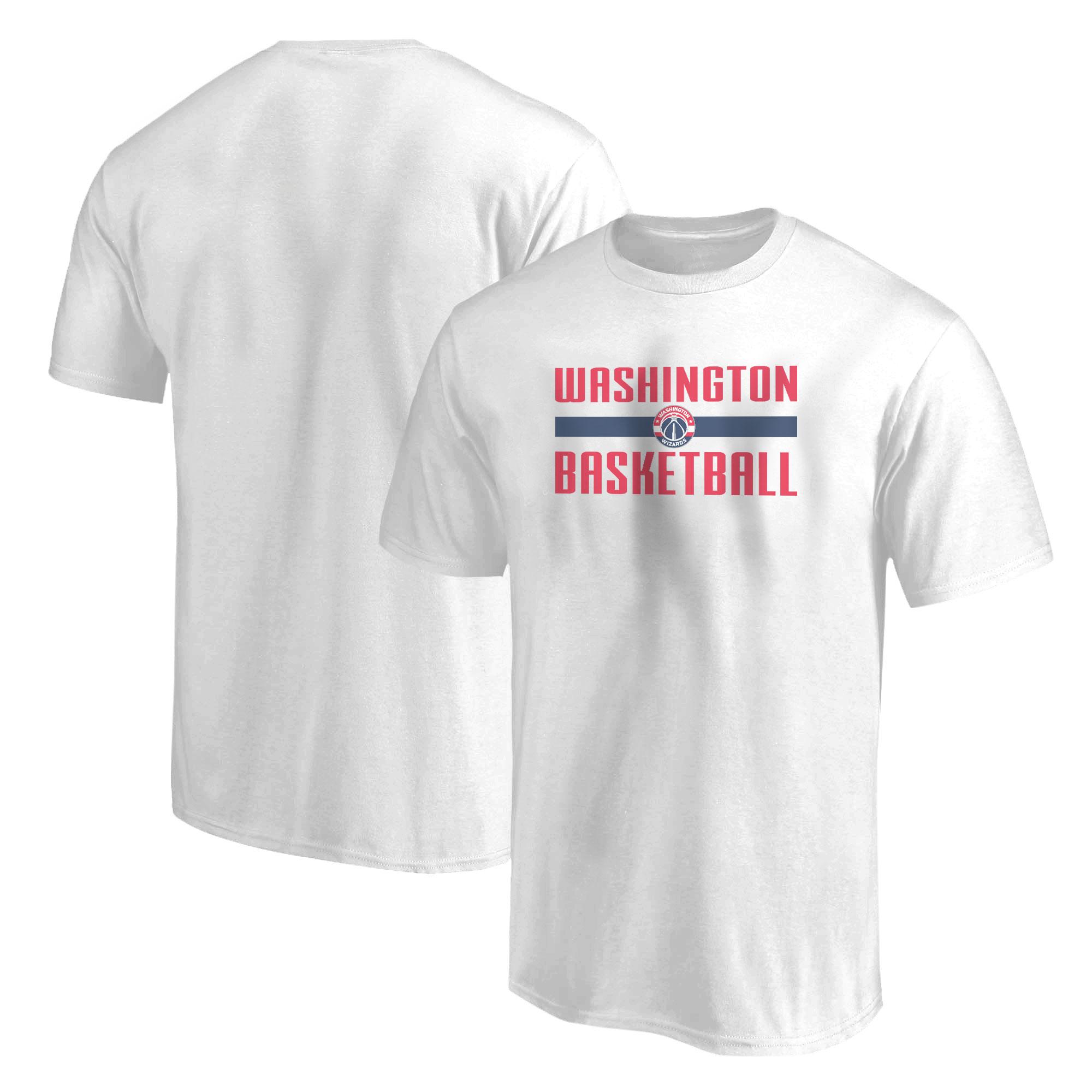 Washington Wizards Basketball Tshirt (TSH-WHT-NP-WSH-BSKTBLL-WSH-BSKTBLL-547)