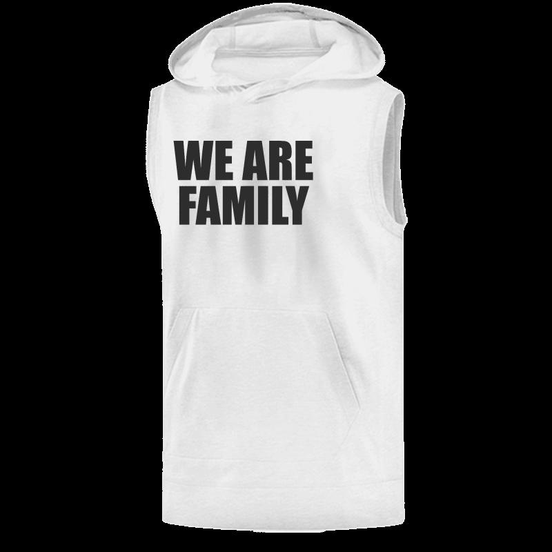 We Are Family Sleeveless (KLS-GRY-NP-WSH-BSKTBLL-wefamily-Syh-542)