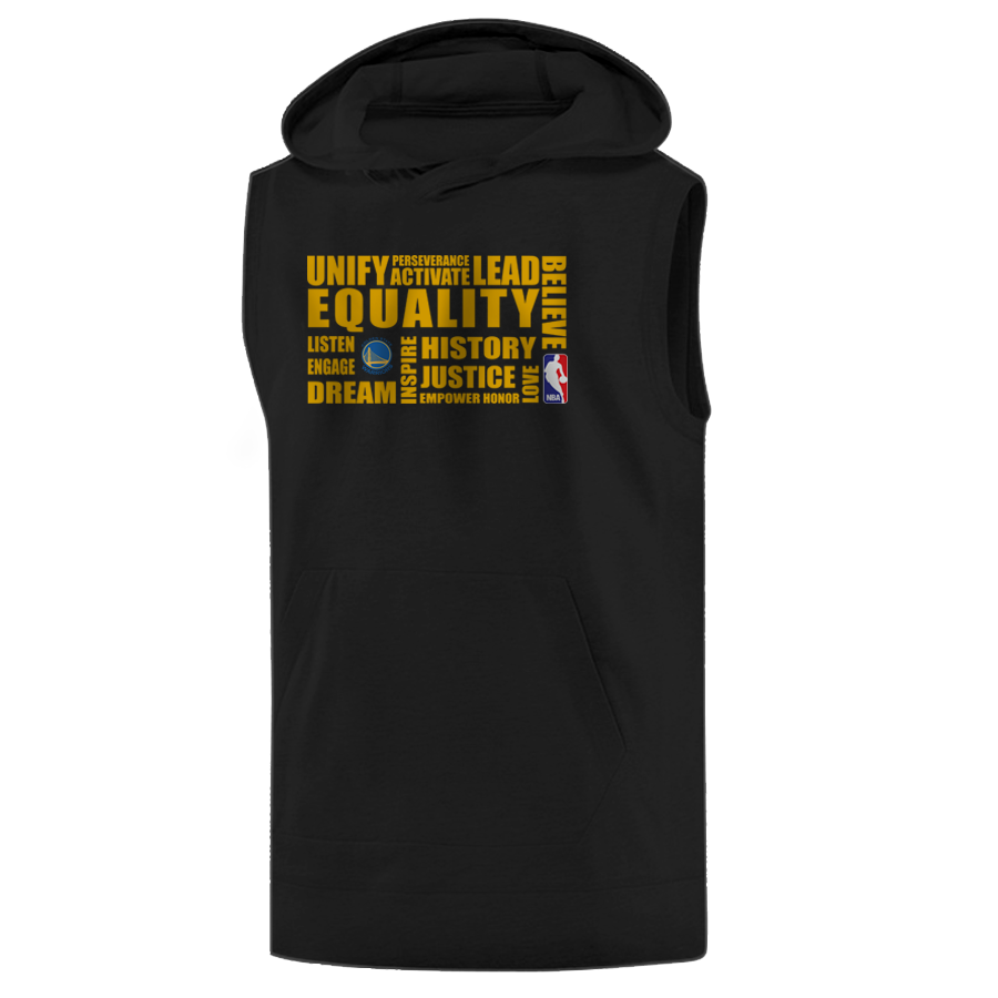 EQUALITY Golden State Warriors Sleeveless (KLS-BLC-NP-290-NBA-GSW.yllw)