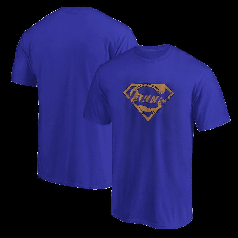Lakers Superman Tshirt (TSH-BLU-NP-122-NBA-LAL-SUPERMAN)
