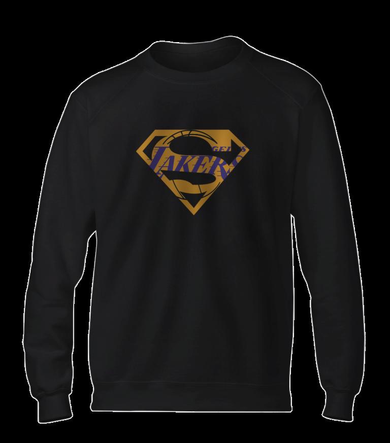Lakers Superman  Basic (BSC-BLC-NP-122-NBA-LAL-SUPERMAN)