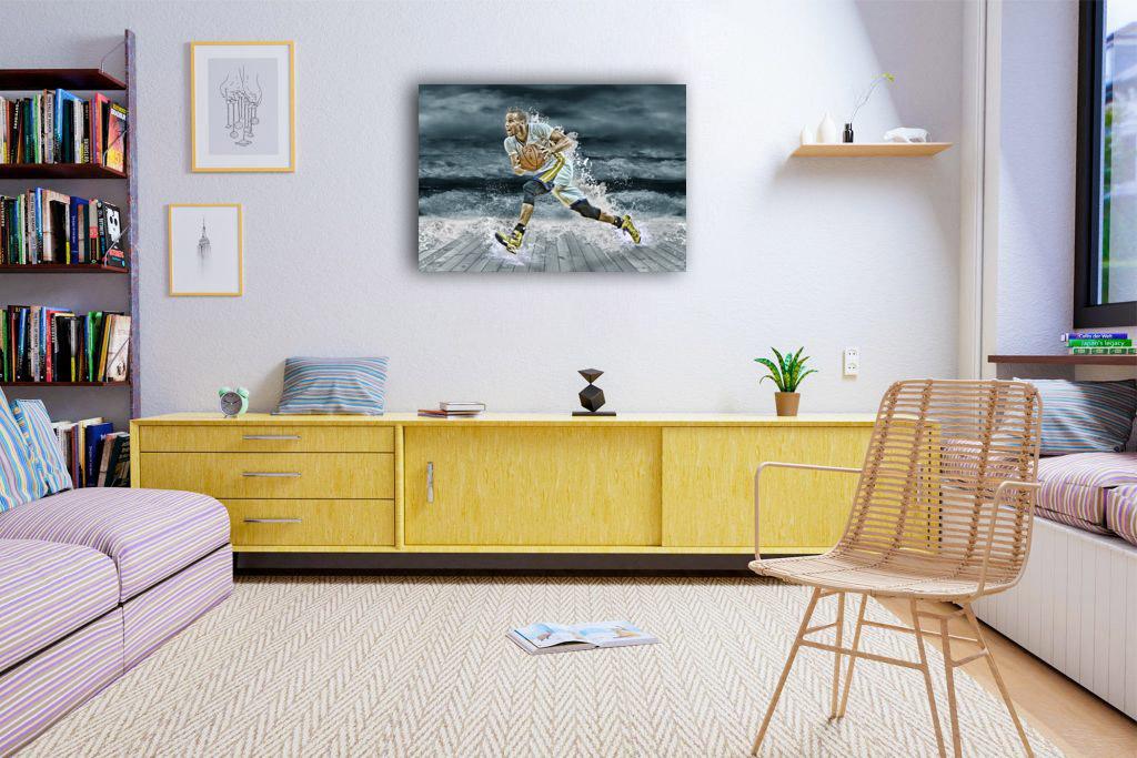 Stephen Curry Canvas Tablo (Nba-canvas-curryst)