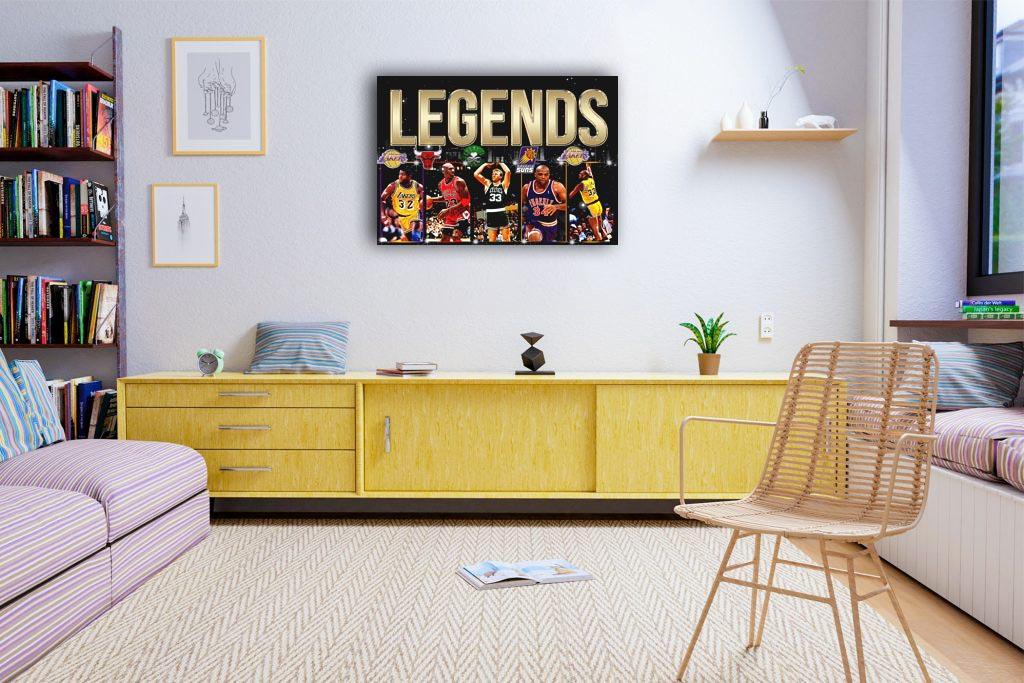 Legends  Canvas Tablo (Nba-canvas-Legends )