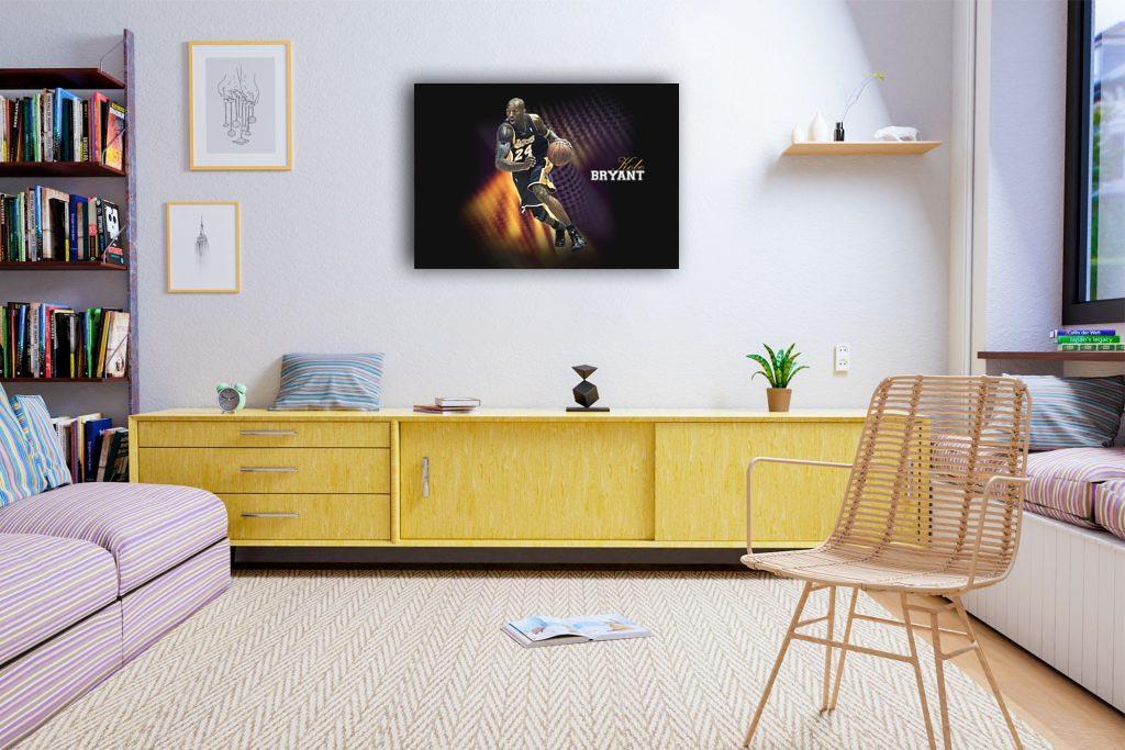 Kobe Bryant Canvas Tablo (Nba-canvas-bryantnew1)