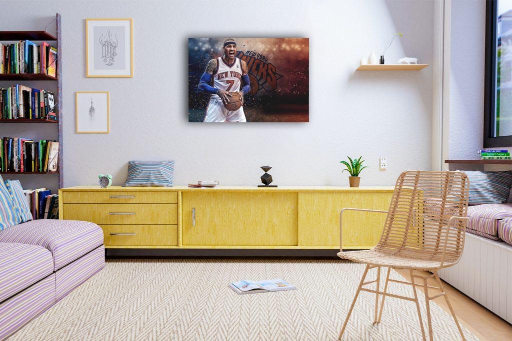 Carmelo Anthony  Canvas Tablo (Nba-canvas-CarmeloAnthony)