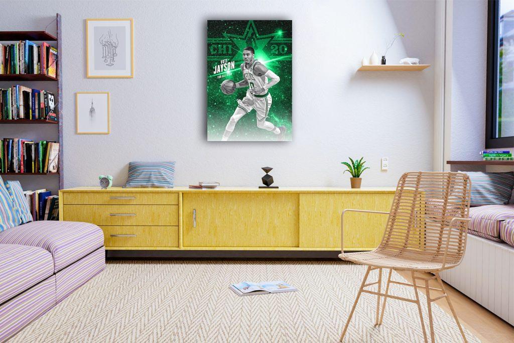 Jayson Tatum Canvas Tablo (Nba-canvas-JaysonTatum)