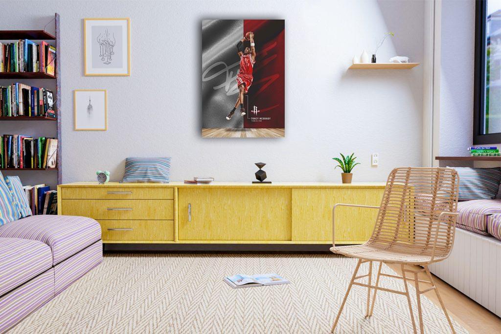 Tracy McGrady  Canvas Tablo (Nba-canvas-TracyMcGrady)