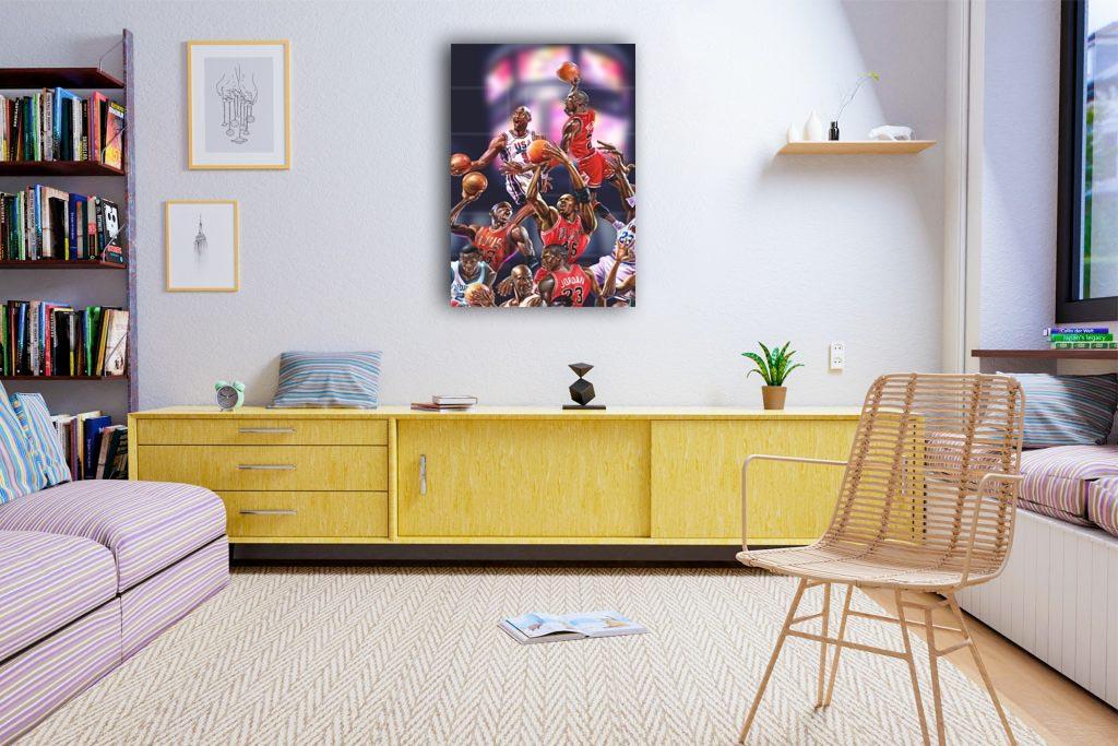 Michael Jordan Canvas Tablo (Nba-canvas-jordannew1)