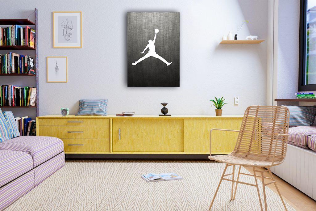 Air Jordan Canvas Tablo (Nba-canvas-airjordan1)