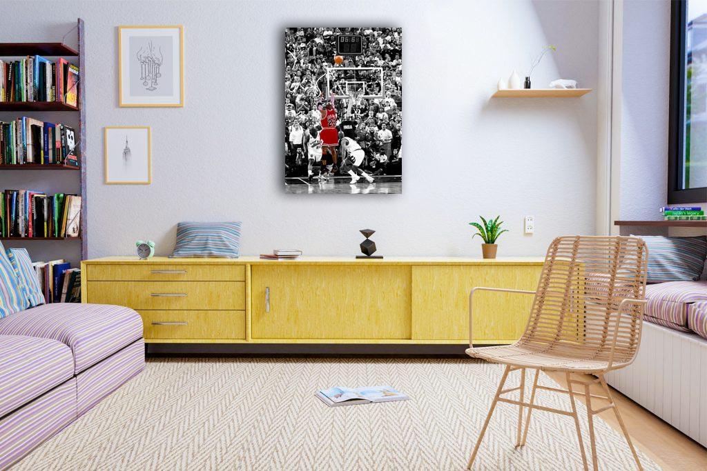 Michael Jordan Canvas Tablo (Nba-canvas-jordannew3)