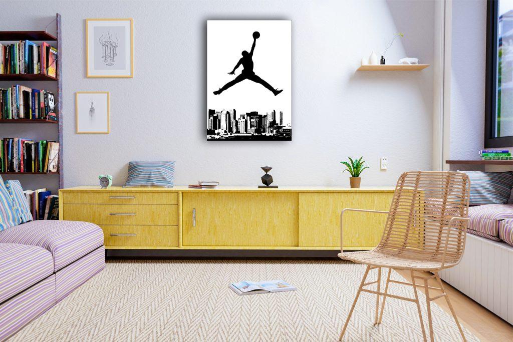 Air Jordan Canvas Tablo (Nba-canvas-airjordan2)
