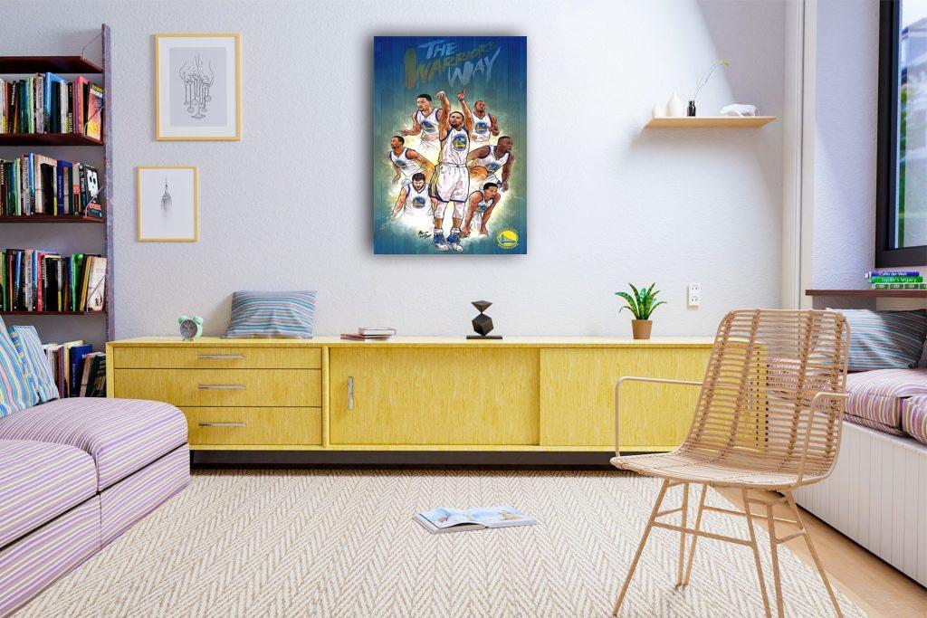 Golden State Canvas Tablo (Nba-canvas-GoldenState )