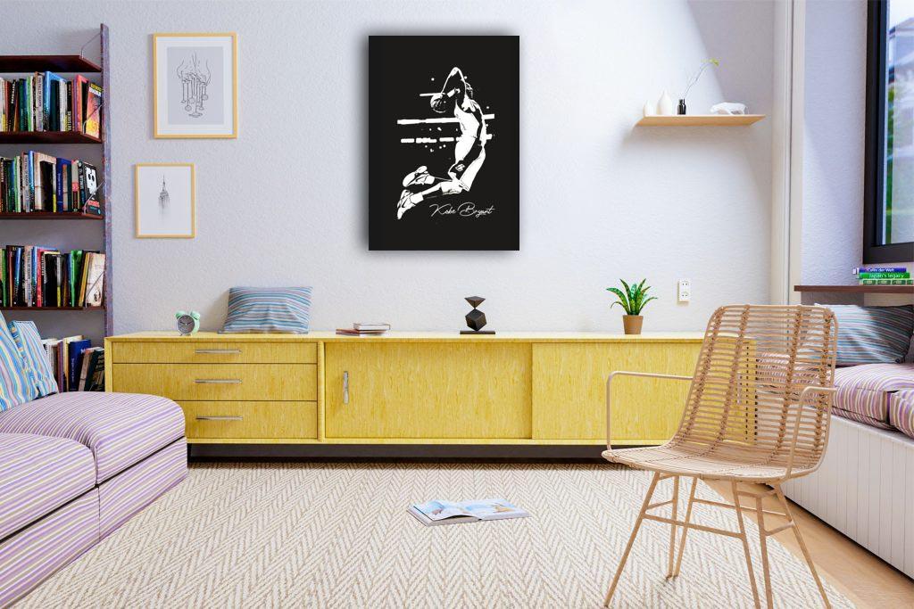 Kobe Bryant Canvas Tablo (Nba-canvas-kobenew)