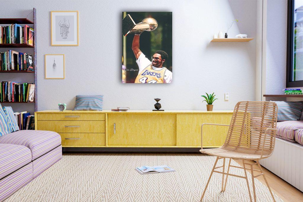 Kobe Bryant  Canvas Tablo (Nba-canvas-kobenew2)