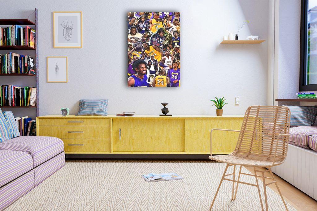 Koba Bryant Canvas Tablo (Nba-canvas-kobenew4)