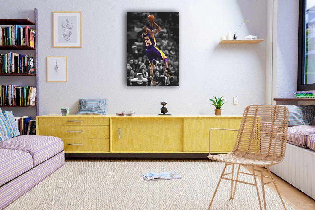 Kobe Bryant Canvas Tablo (Nba-canvas-kobev3)