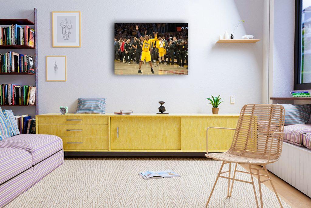 Kobe Bryant Canvas Tablo (Nba-canvas-kobev2)