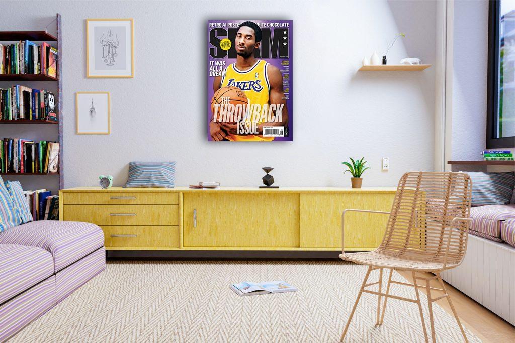 Kobe Bryant Slam Canvas Tablo (Nba-canvas-kobe1slam)