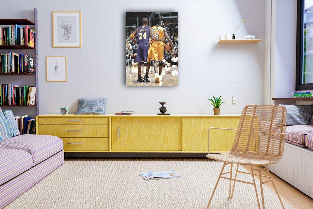 Kobe Bryant 24 & 8 Canvas Tablo (Nba-canvas-bryant24-8)