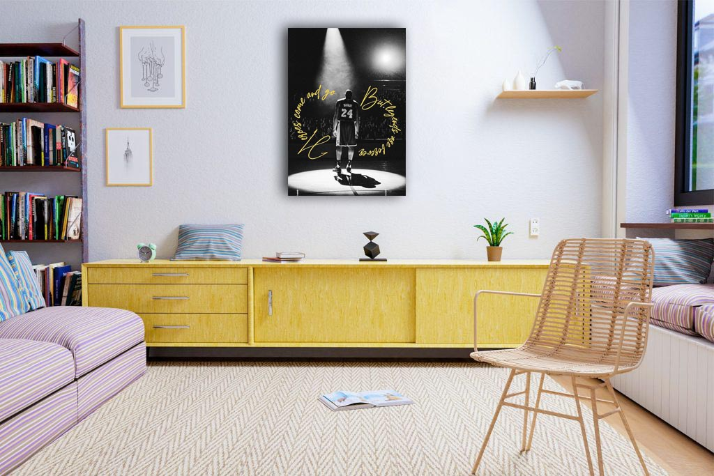 Koba Bryant Legends Canvas Tablo (Nba-canvas-legendsnevergo)