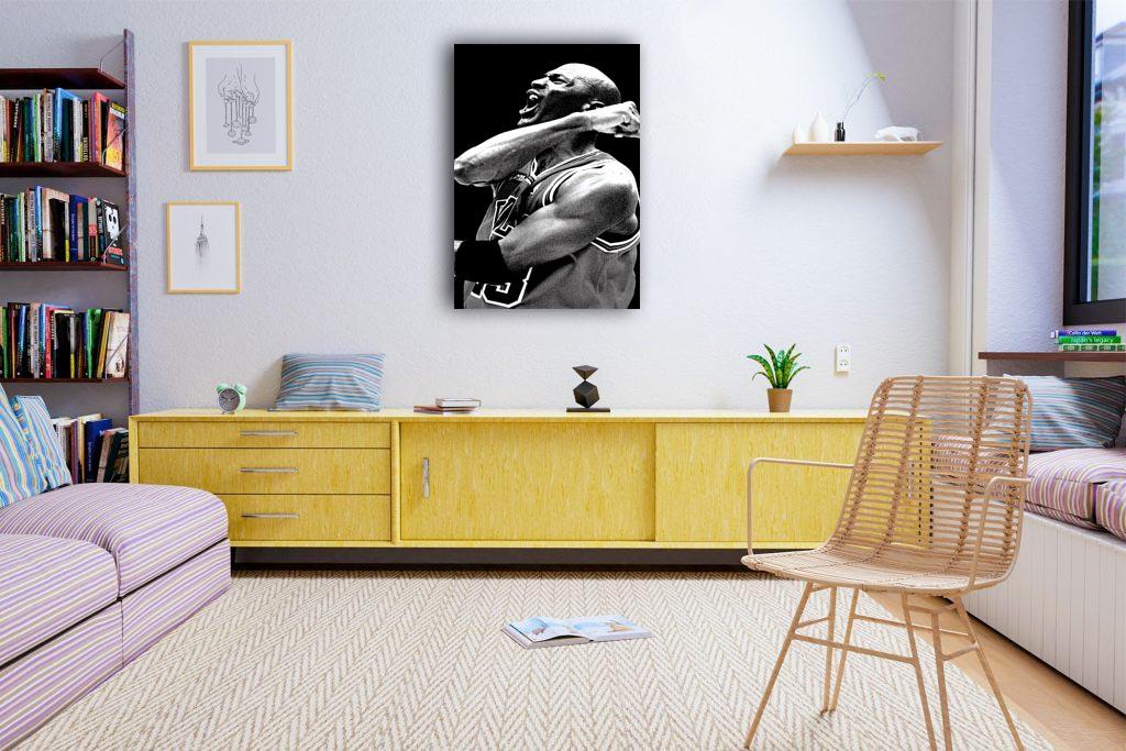 Michael Jordan Canvas Tablo (Nba-canvas-jordanmj5)