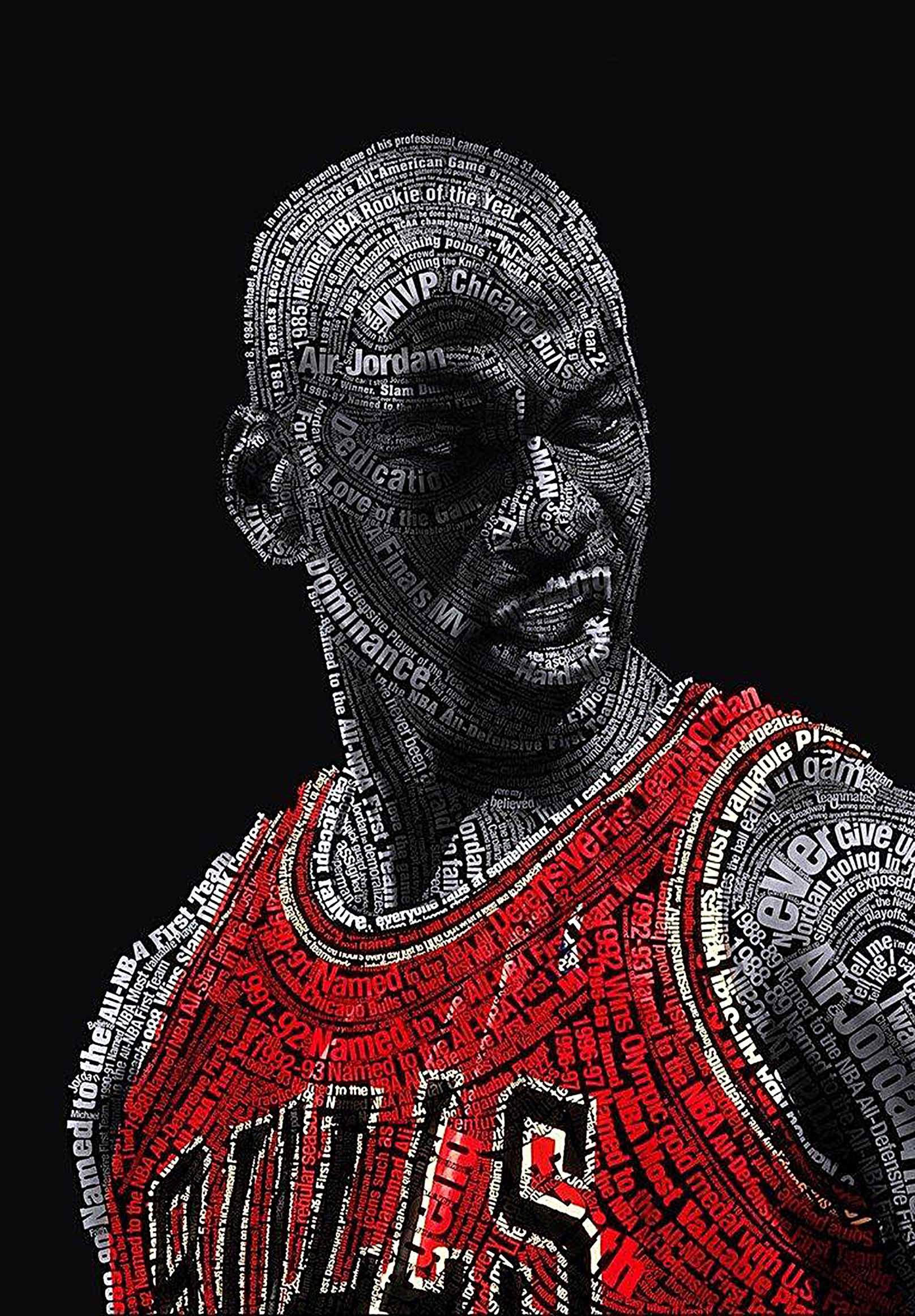 Chicago Bulls Michael Jordan Canvas Tablo (Nba-canvas-jordanmj3)