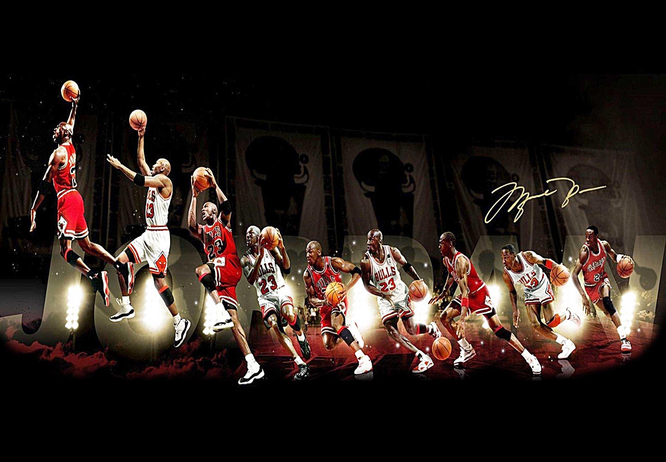 Chicago Bulls Michael Jordan Canvas Tablo (Nba-canvas-jordanmj2)