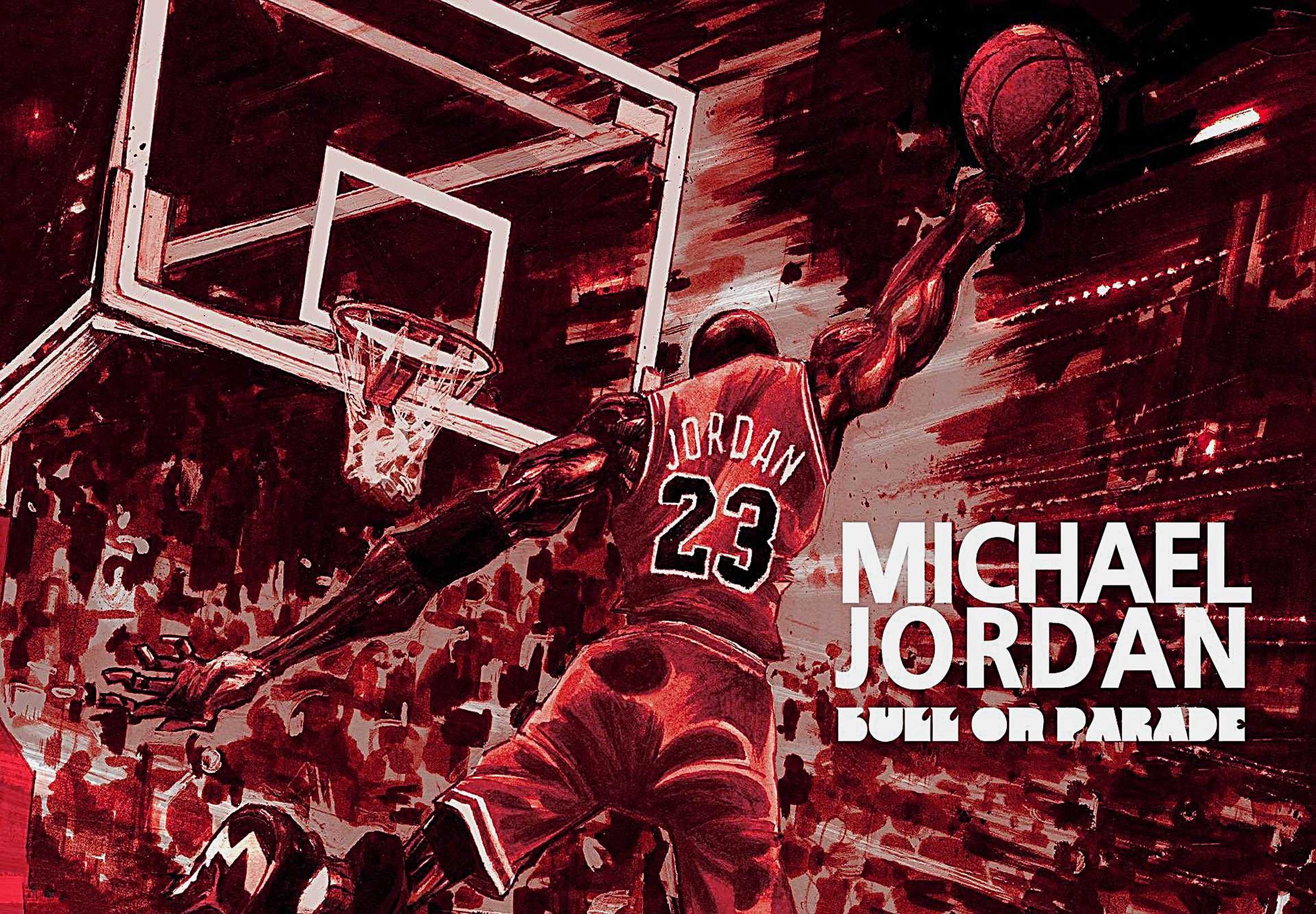 Michael Jordan Canvas Tablo (Nba-canvas-jordanmj1)
