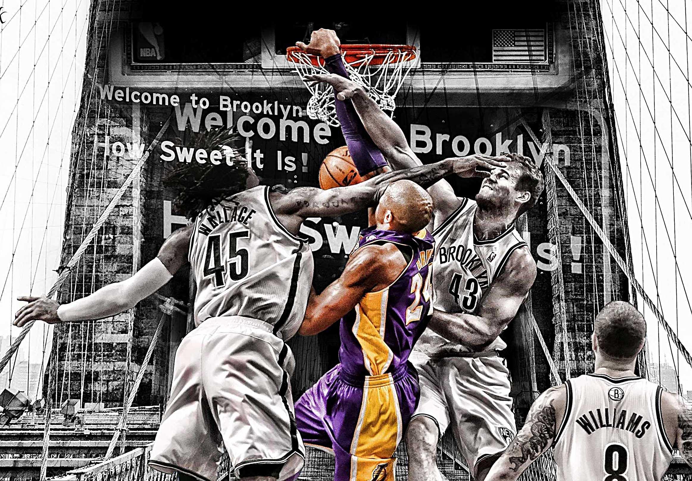 L.A. Lakers Kobe Bryant Canvas Tablo (Nba-canvas-kobe1v3)
