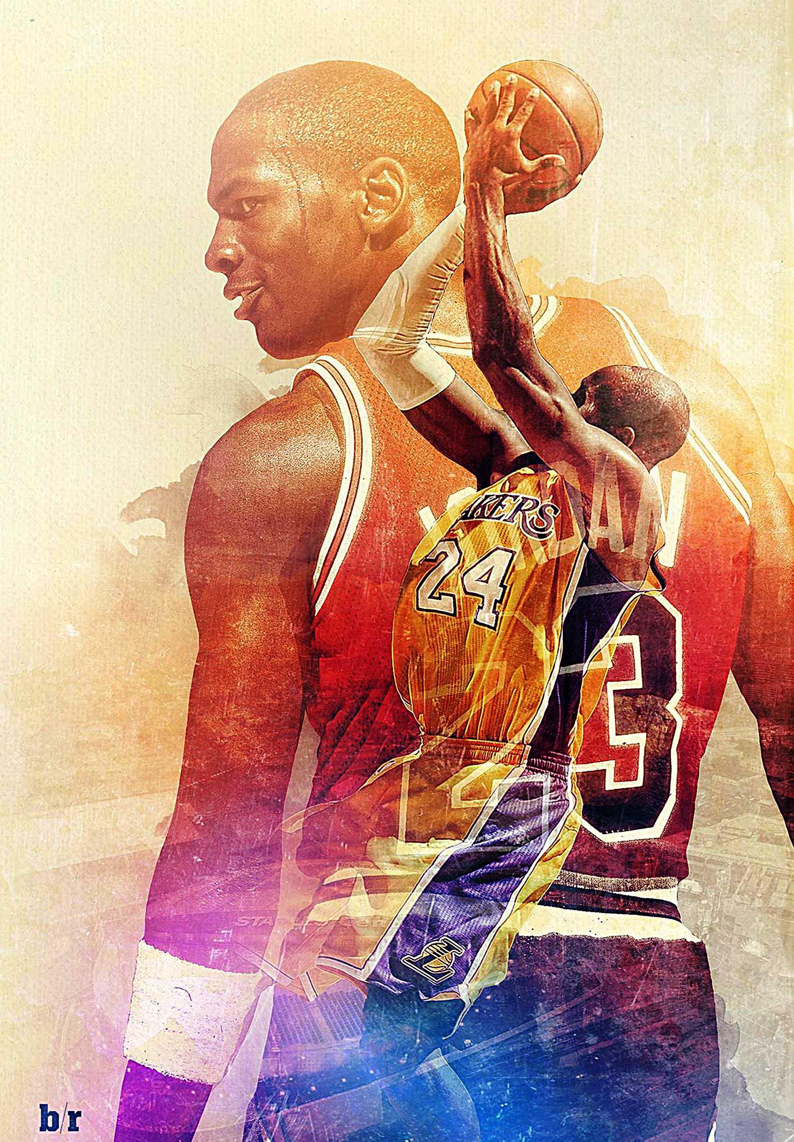 Michael Jordan Canvas Tablo (Nba-canvas-jordanmj)