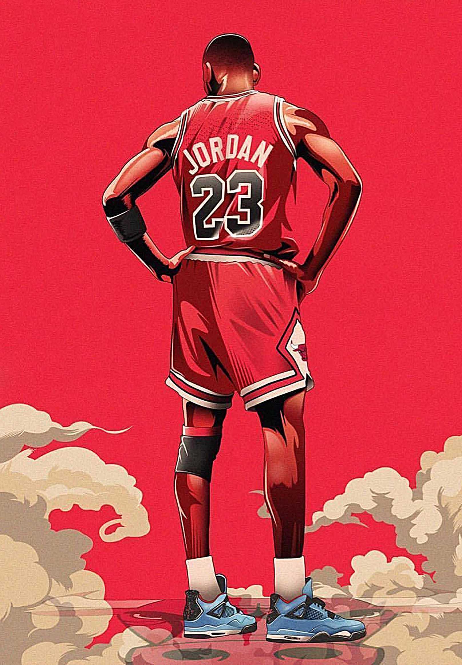 Michael Jordan Canvas Tablo (Nba-canvas-jordannew)