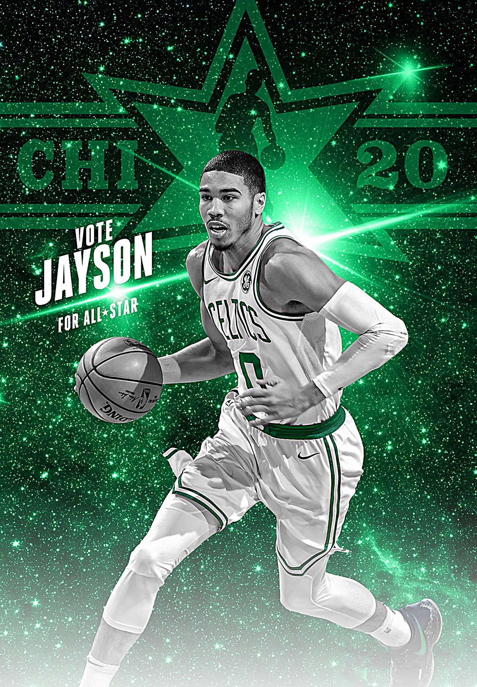 Boston Celtics Jayson Tatum Canvas Tablo (Nba-canvas-JaysonTatum)