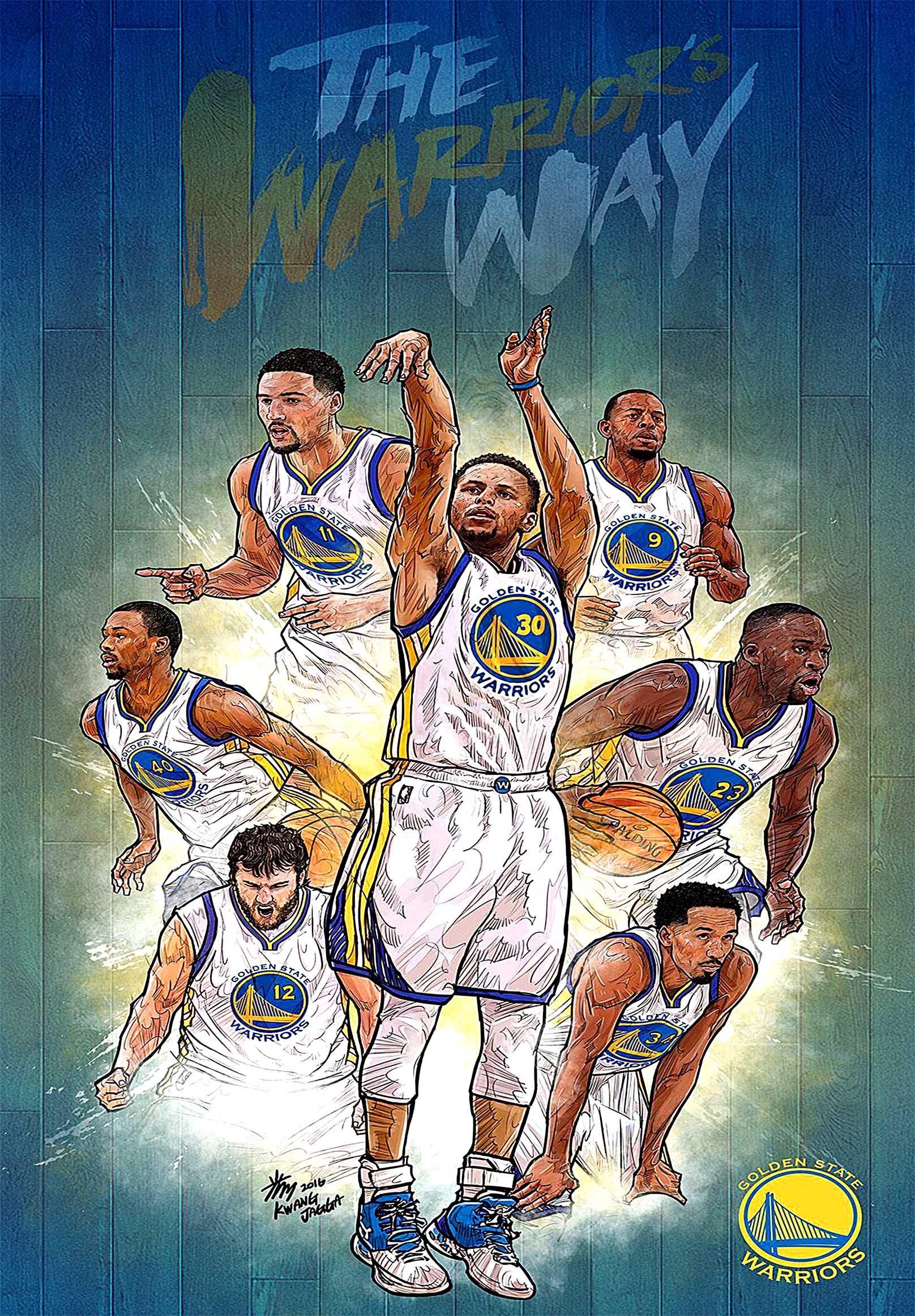 Golden State Warriors Golden State Canvas Tablo (Nba-canvas-GoldenState )