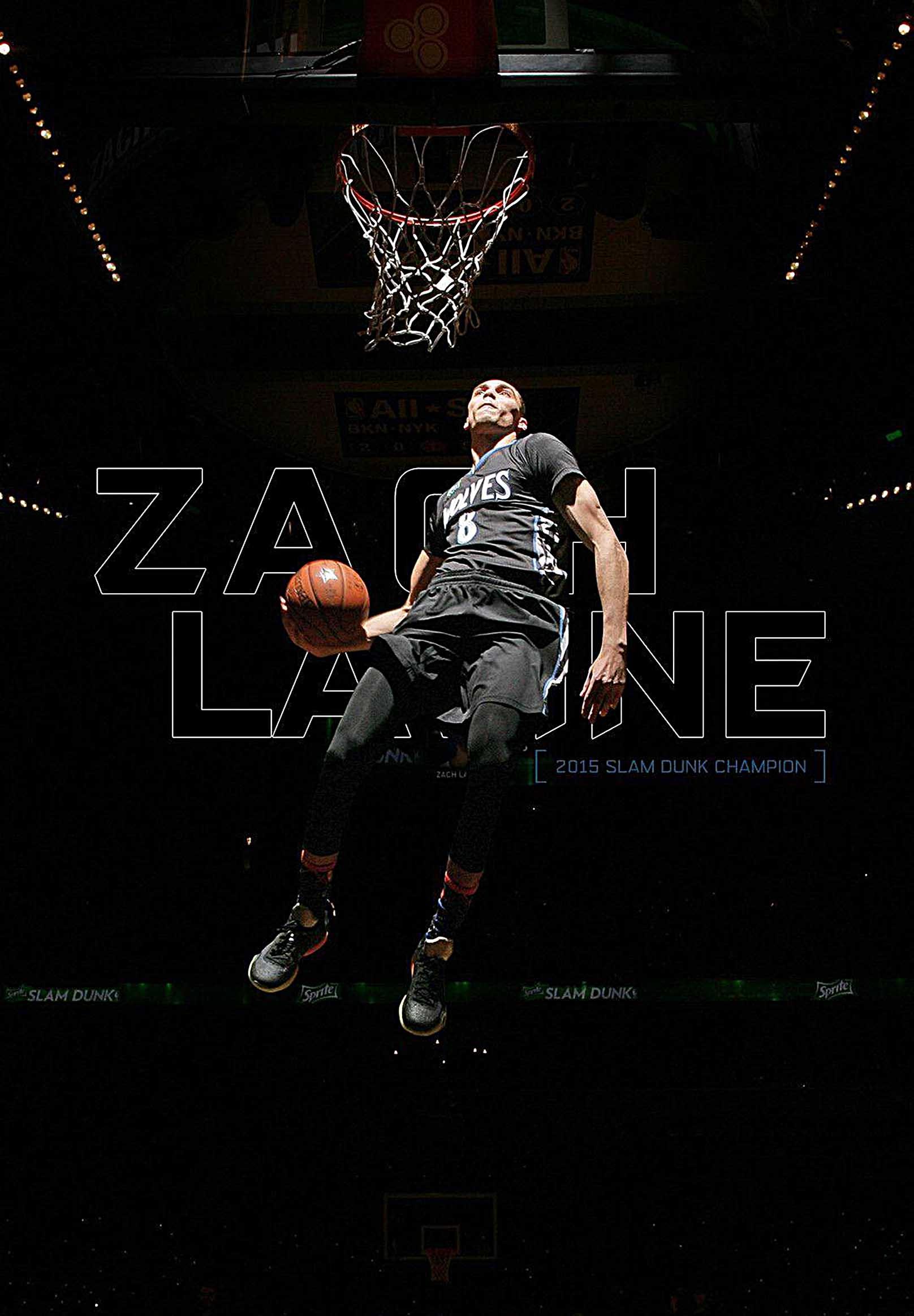 Zach LaVine Canvas Tablo (Nba-canvas-ZachLaVine)