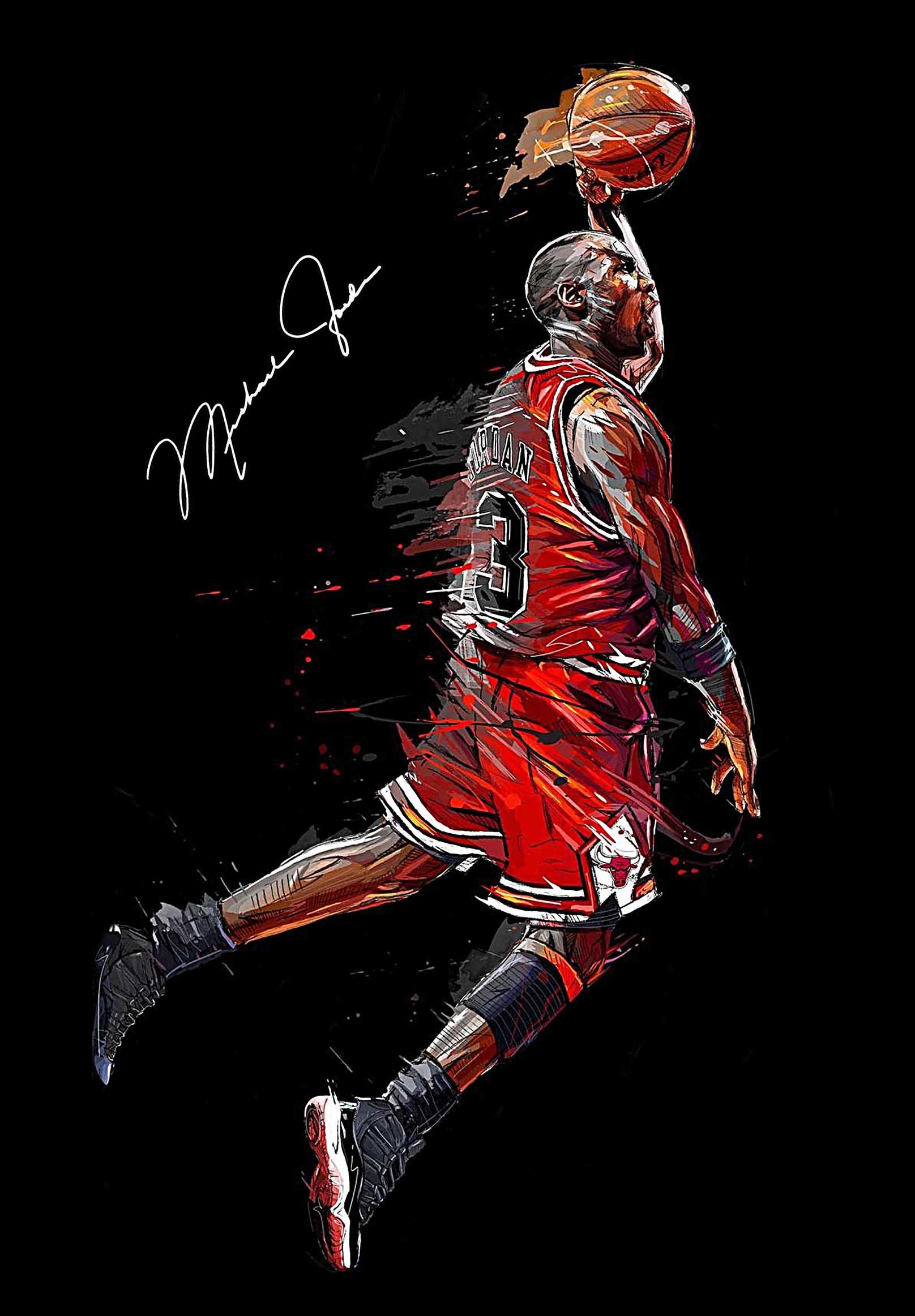 Michael Jordan Canvas Tablo (Nba-canvas-jordanmj6)