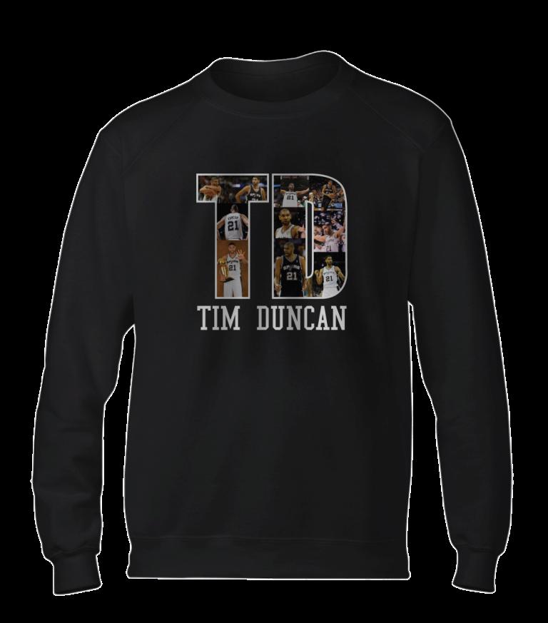 Tim Duncan Basic (BSC-BLC-NP-196-PLYR-SAS-T.D)