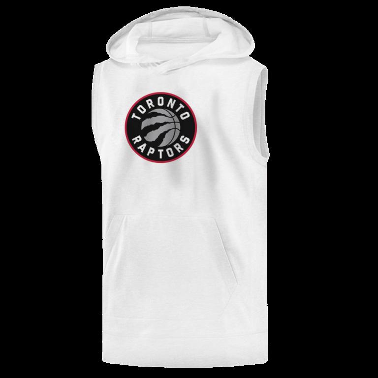 Toronto Raptors Sleeveless (KLS-WHT-NP-197-NBA-TOR-LOGO)