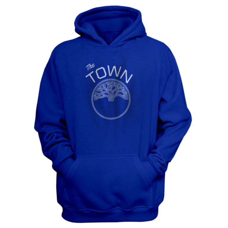 Golden State  Hoodie (HD-BLU-NP-105-NBA-GSW-THE.TOWN)