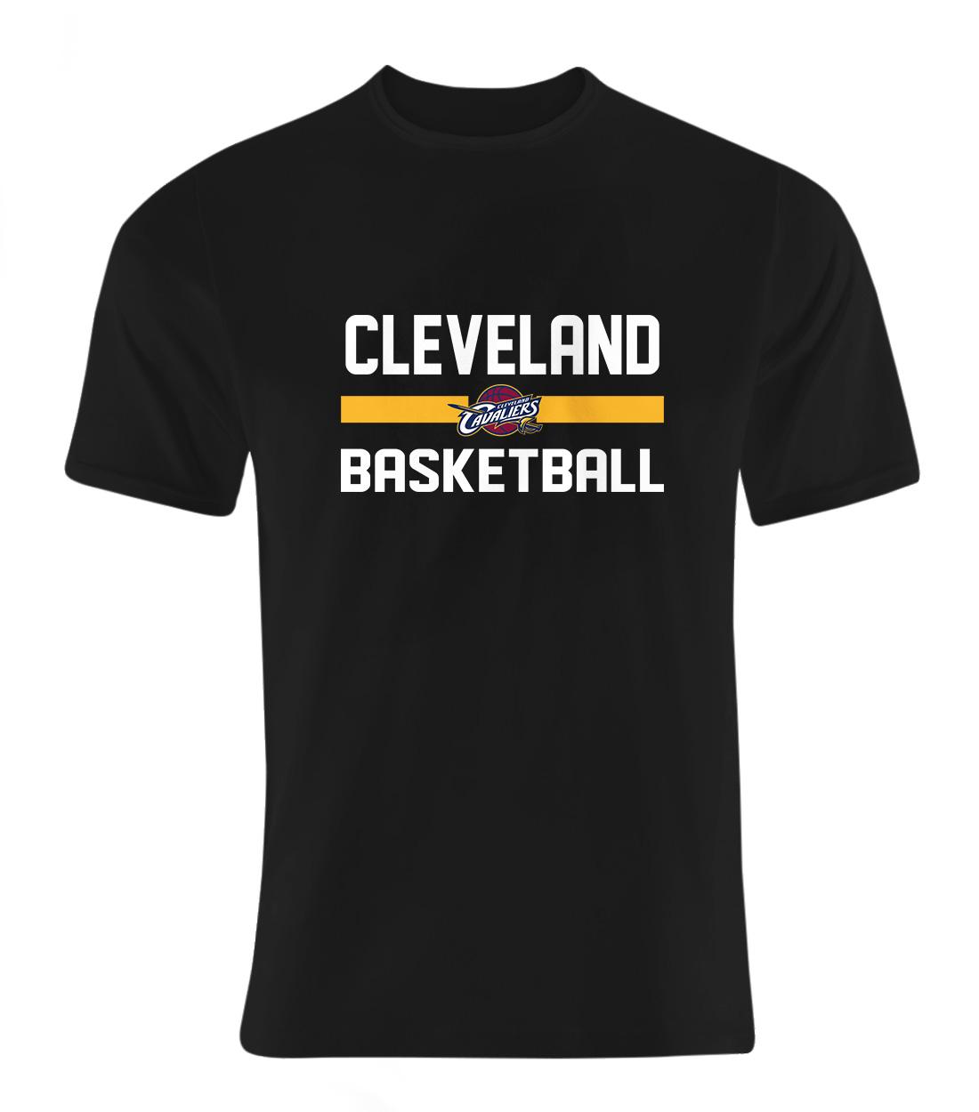Cleveland Basketball Tshirt (TSH-BLC-NP-66-NBA-CLE-BASKETBALL)