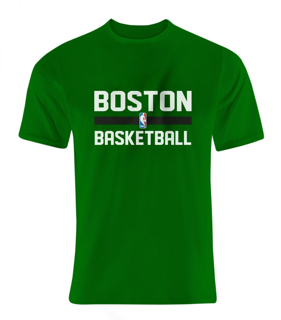 Boston Basketball Tshirt (out-TSH-GRN-33-NBA-BSTN-BASKETBALL)