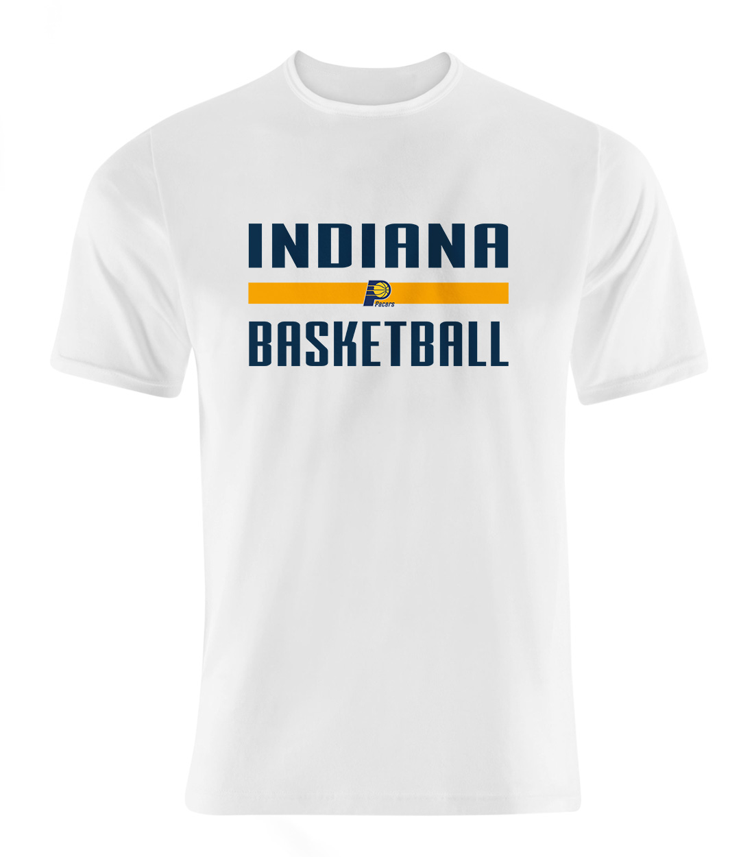 Indiana Basketball Tshirt (TSH-wht-NP-indiana-bsktbll-516)