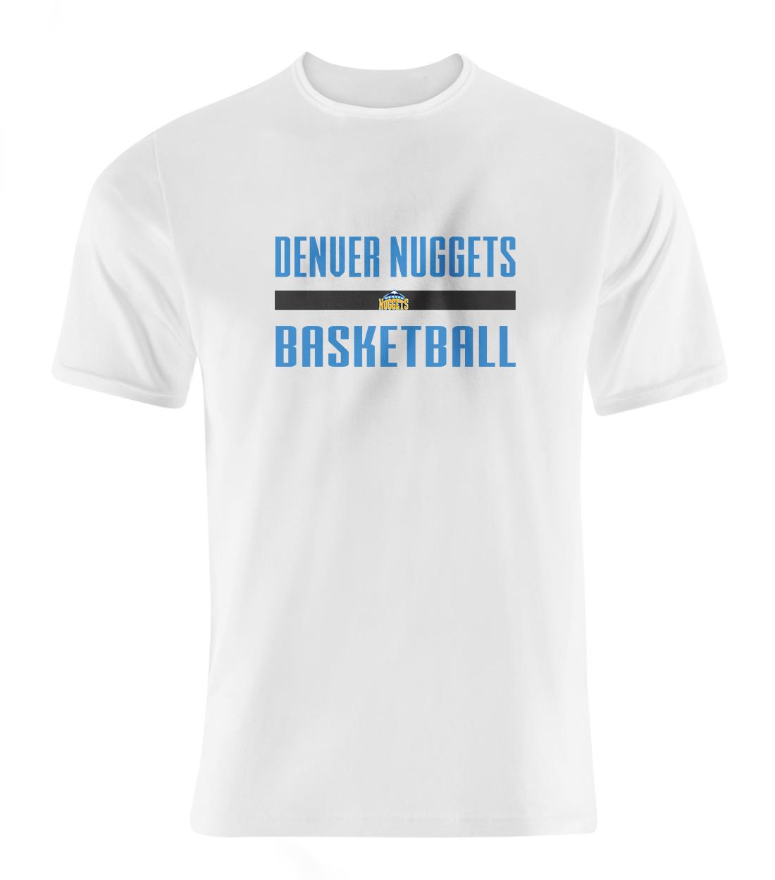Denver  Basketball Tshirt (TSH-wht-SKR-nuggets.bsktbll-509)