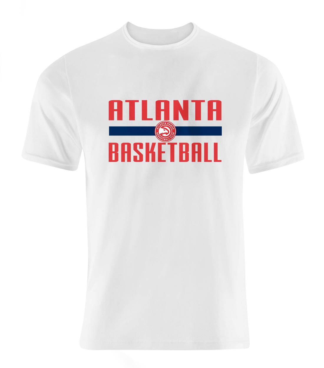 Atlanta Basketball Tshirt (TSH-WHT-NP-atl.bsktbll-650)