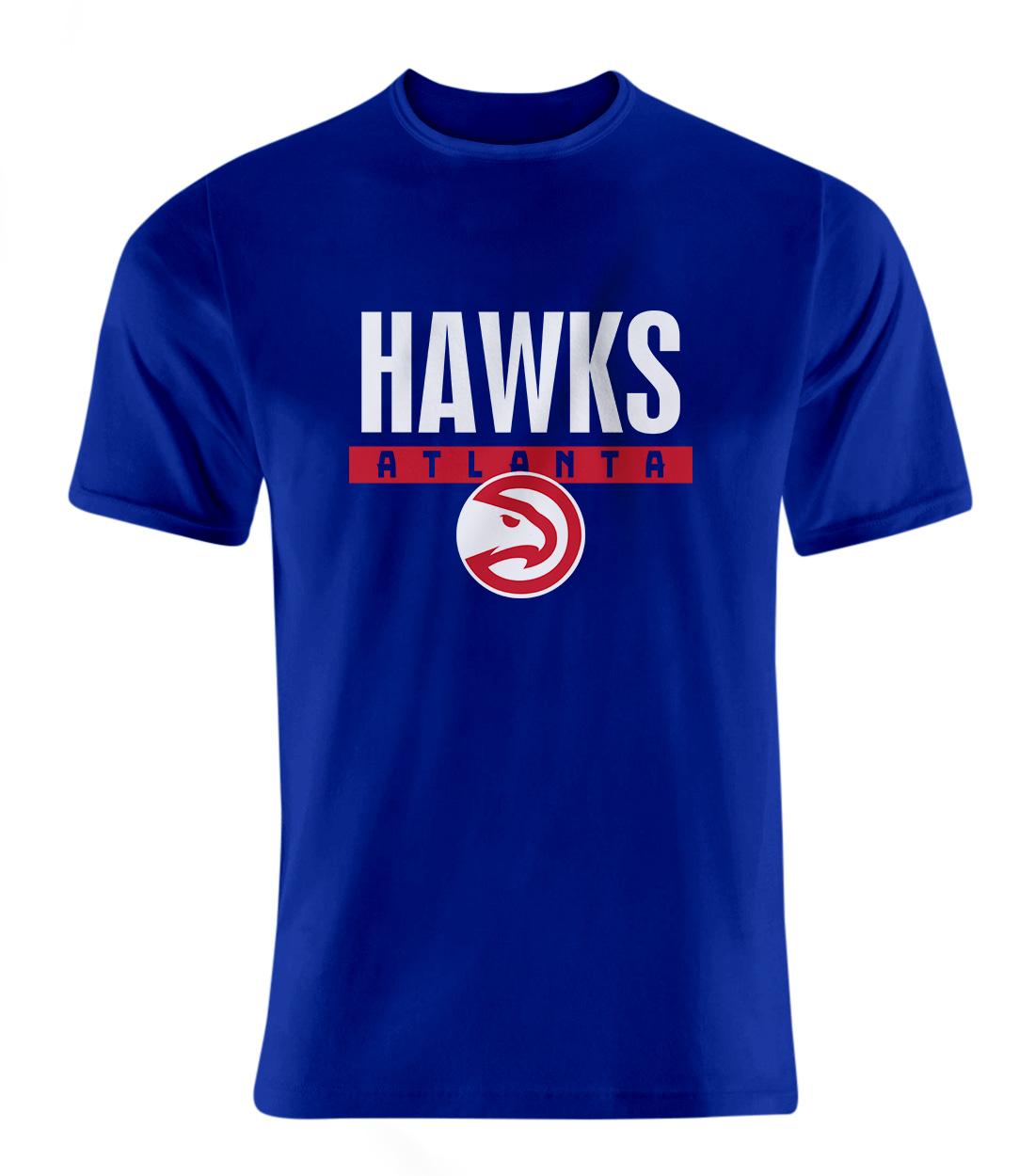 Atlanta Hawks Tshirt (TSH-BLU-NP-19-NBA-ATL-HAWKS)