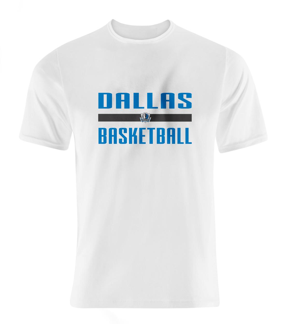 Dallas Basketball Tshirt (TSH-WHT-SKR-dlls-bsktbll-507)