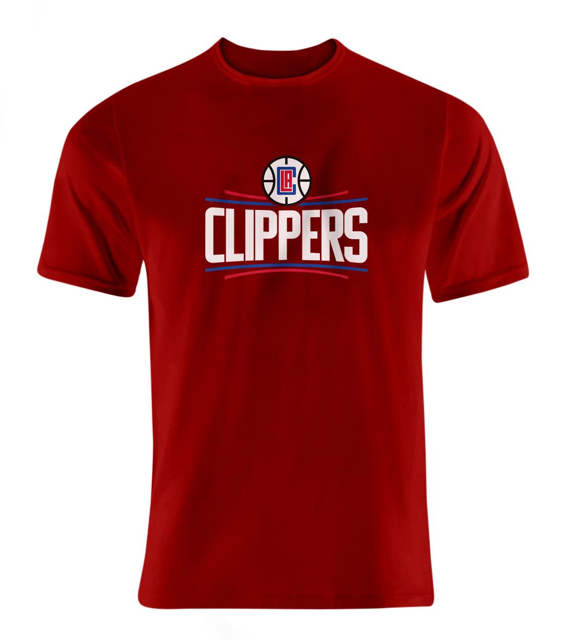 L.A. Clippers Tshirt (TSH-RED-NP-119-NBA-LAC-LOGO)