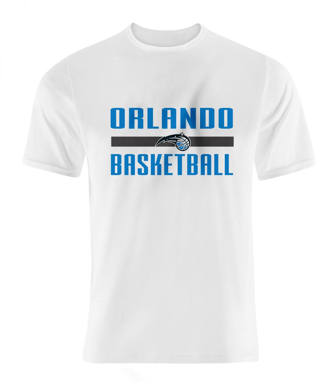 Orlando Basketball Tshirt (TSH-WHT-442-orl.bsktbll)