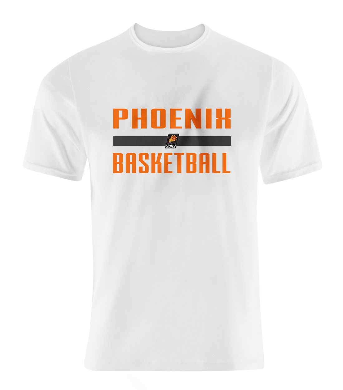 Phoneix Suns Basketball Tshirt (TSH-WHT-NP-Phoneix-bsktball-535)