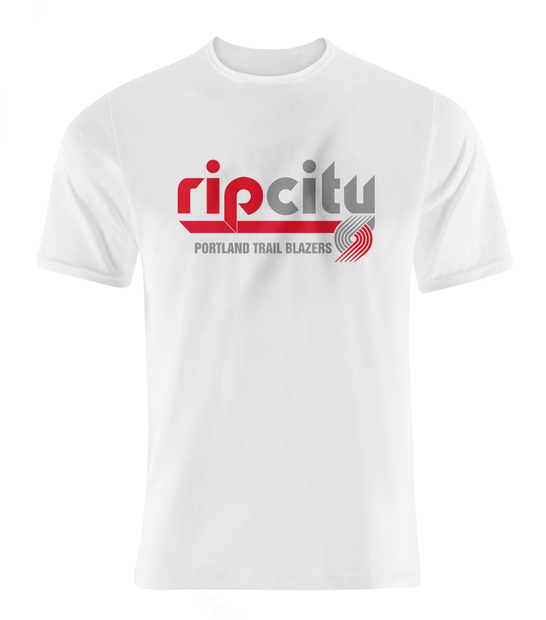 Portland Rip City Tshirt (TSH-WHT-NP-190-NBA-POR-RIP.CITY)